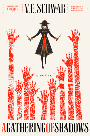 Book Review: A Gathering of Shadows by V.E. Schwab