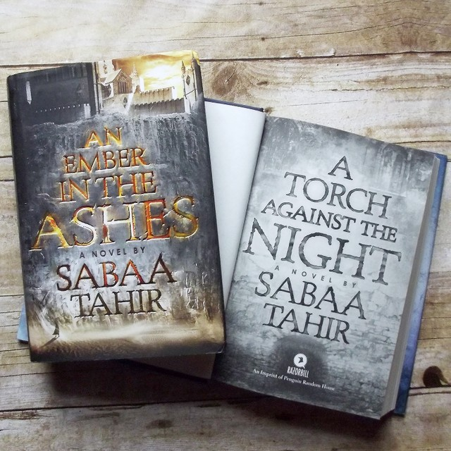 An Ember in the Ashes by SabaaTahir