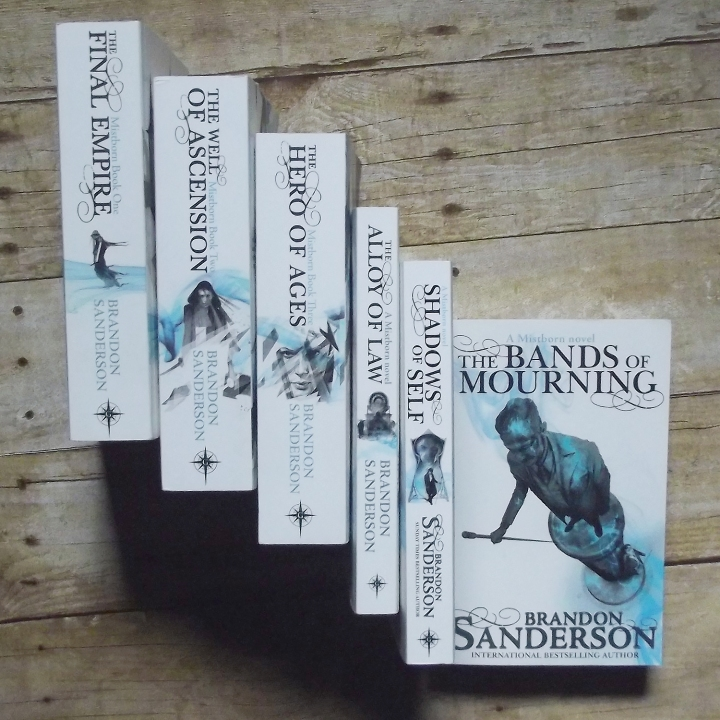 The Bands of Mourning (Mistborn #6) by Brandon Sanderson
