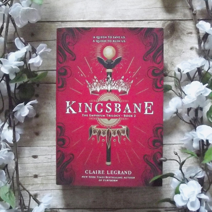 Kingsbane (The Empirium Trilogy #2) by Claire Legrand