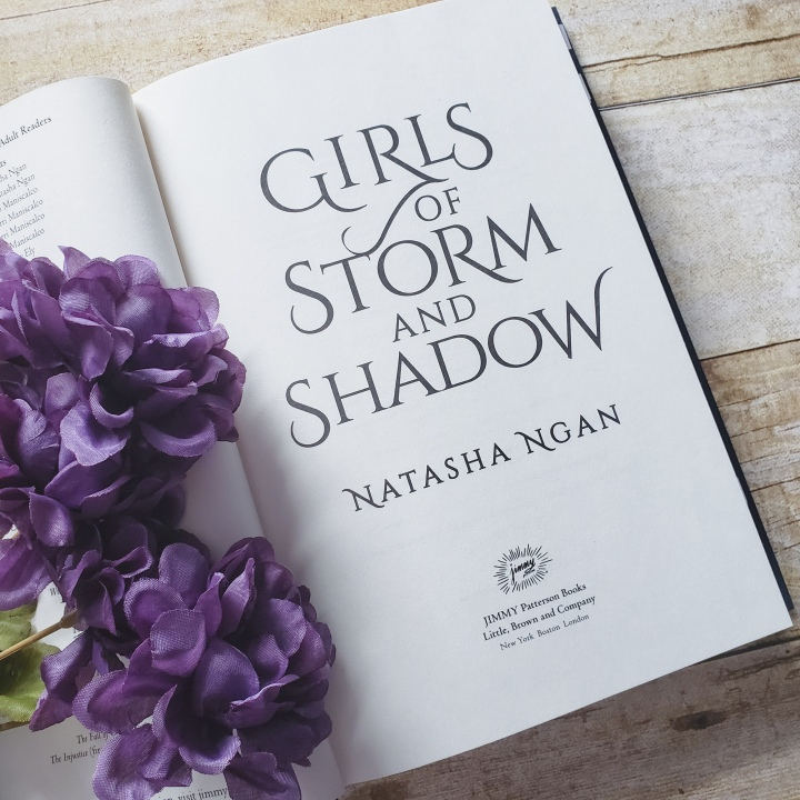 Girls of Storm & Shadow (Girls of Paper & Fire #2) by Natasha Ngan