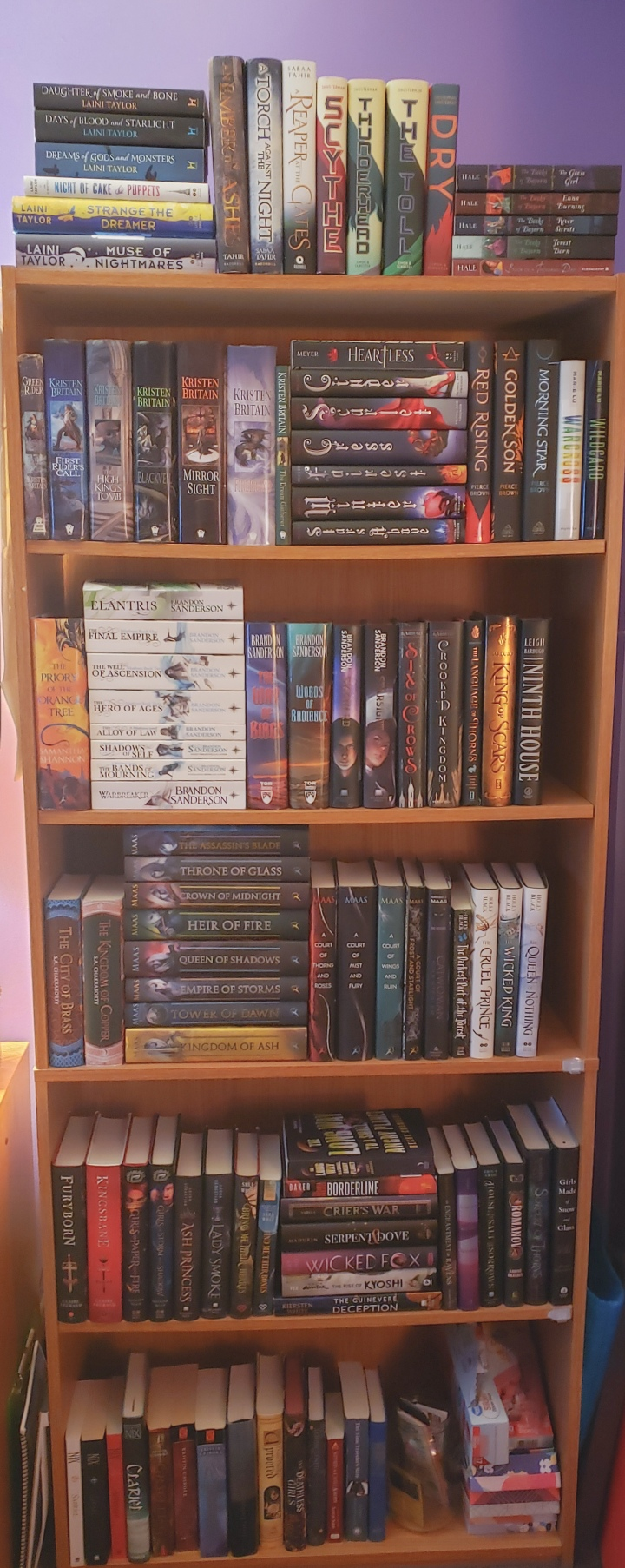 A Tour of My Bookshelves!