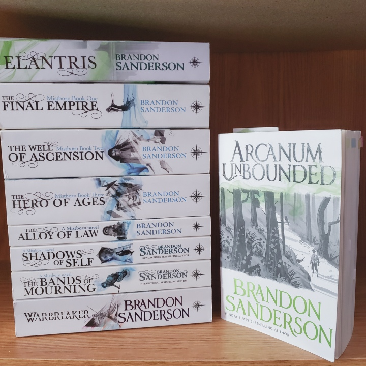 Arcanum Unbounded by Brandon Sanderson (Part 2)