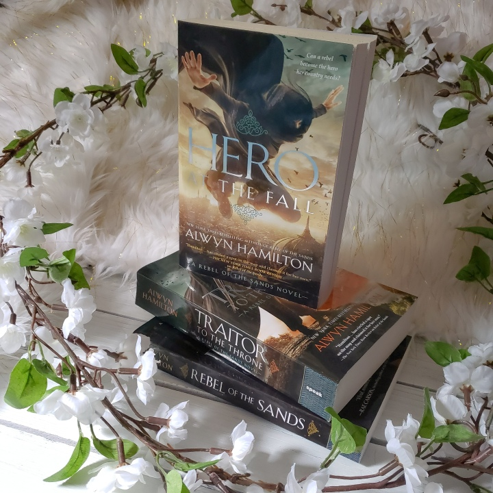 Hero at the Fall (Rebel of the Sands #3) by AlwynHamilton