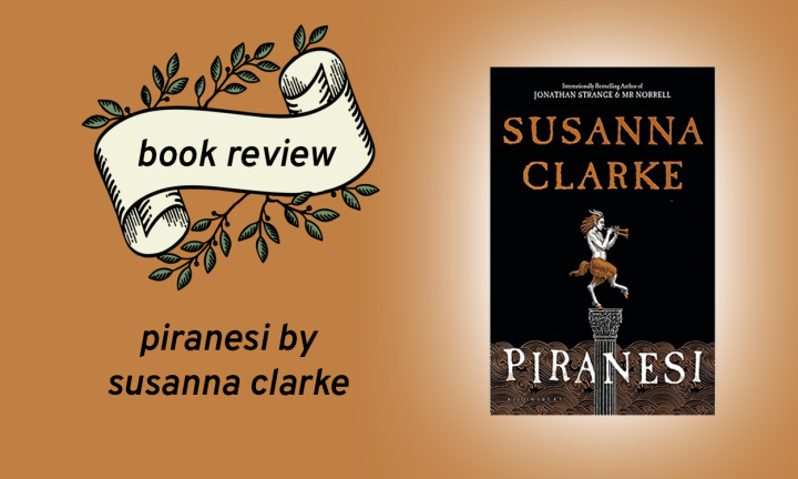Piranesi by SusannaClarke