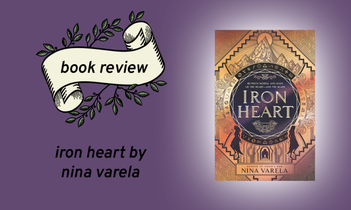 Iron Heart (Crier's War #2) by Nina Varela